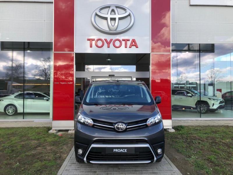 Nieuw Toyota Proace Double Cab LONG 2.0L Diesel 120hp AT Com EVL - DARK GRAY METALLIC 7