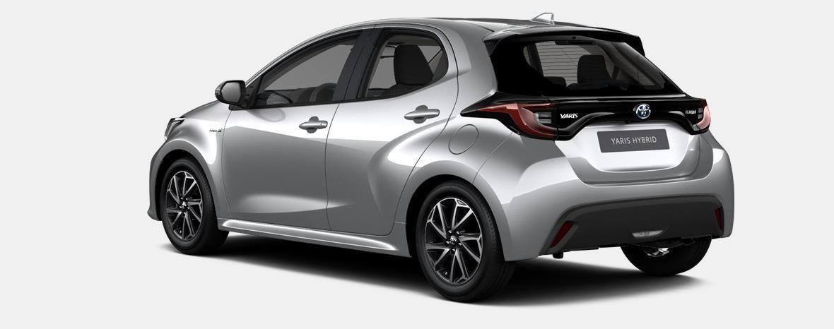 Nieuw Toyota Yaris 5 d. 1.5 VVT-iE 6MT Dynamic LHD 1F7 - ULTRA SILVER METALLIC 3