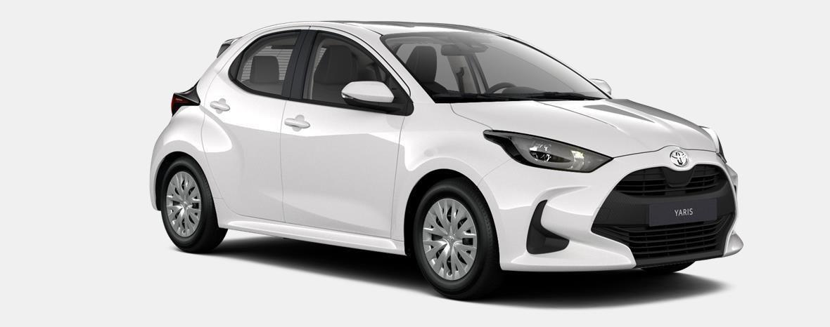 Nieuw Toyota Yaris 5 d. 1.5 Hybrid e-CVT Dynamic LHD 040 - SUPER WHITE II 4