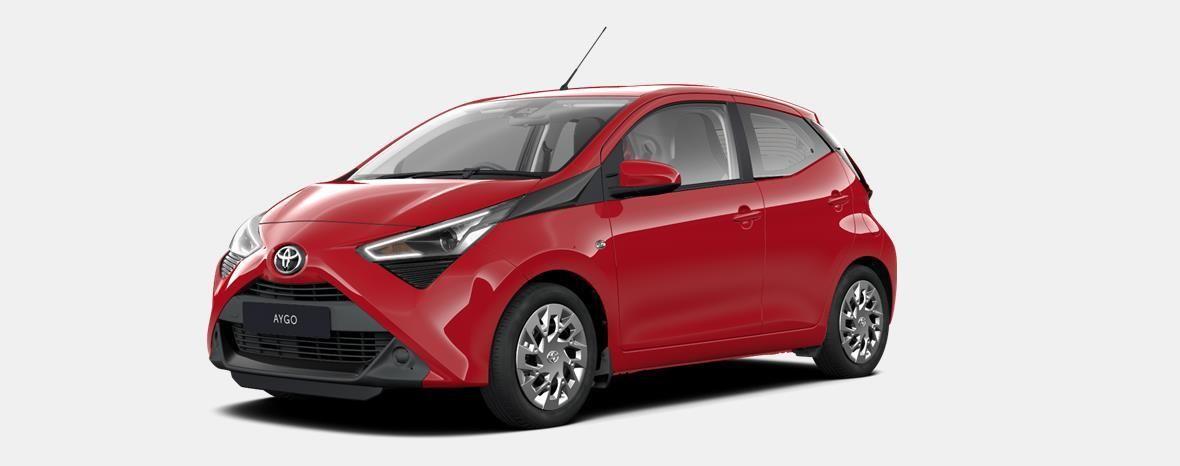 Nieuw Toyota Aygo 5 d. 1.0 VVT-i 5MT x-play2 LHD 3P0 - SUPER RED V 1