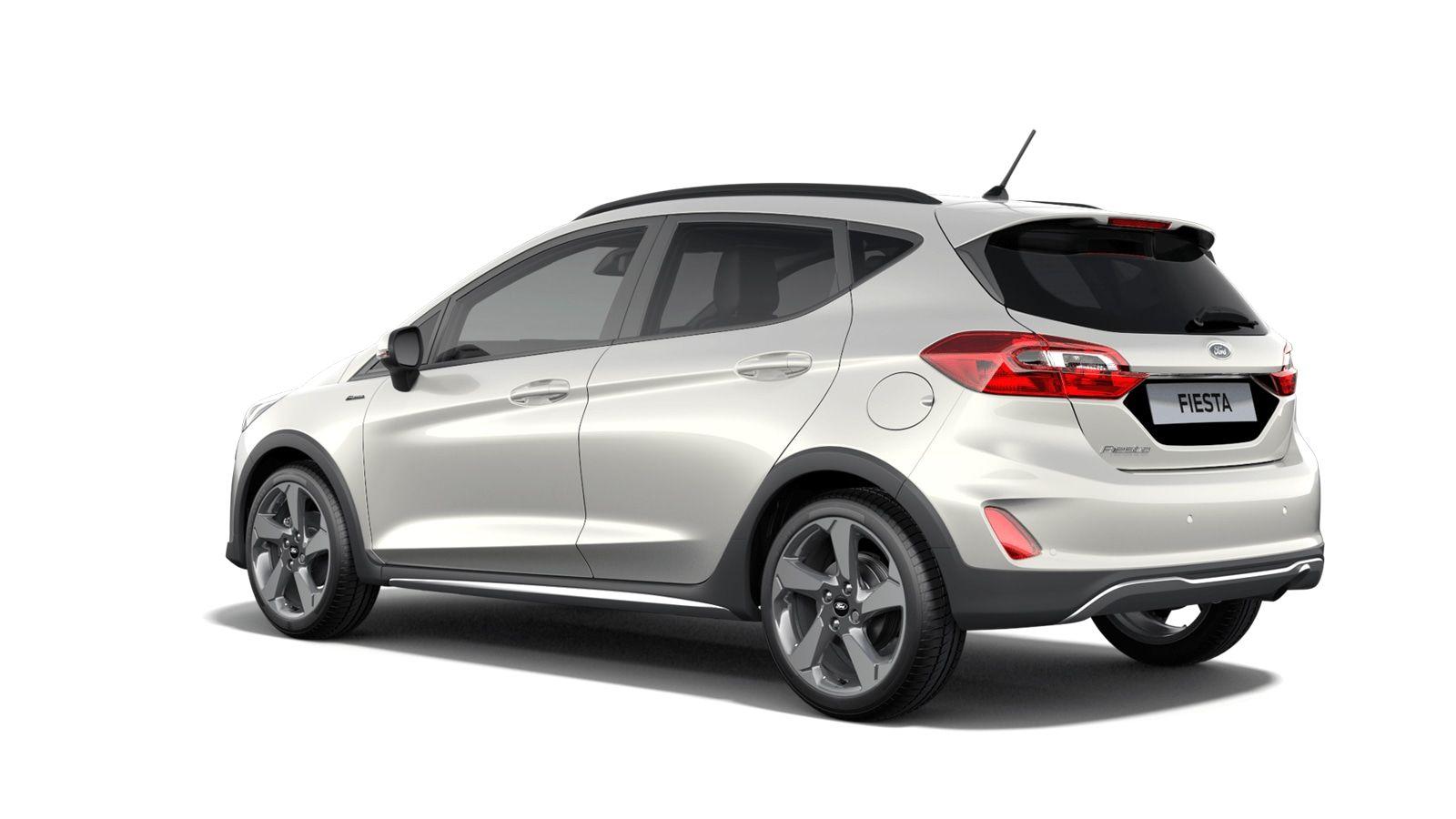 "Nieuw Ford All-new ford fiesta Active 1.0i EcoBoost mHEV 125ps / 92kW M6 - 5d JKV - Speciale metaalkleur ""Metropolis White"" 2"