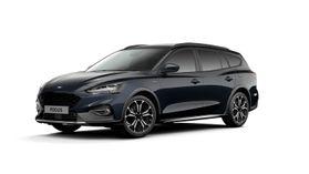 "Nieuw Ford Focus Active X 1.5 EcoBlue 120pk / 88kW A8 - 5d FCD - ""Panther Blue"" Exclusieve metaalkleur"