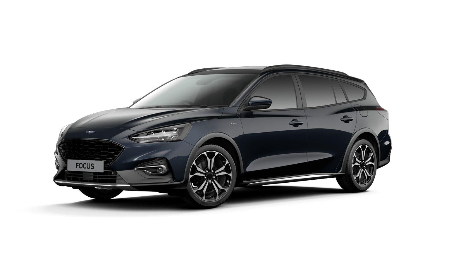 "Nieuw Ford Focus Active X 1.5 EcoBlue 120pk / 88kW A8 - 5d FCD - ""Panther Blue"" Exclusieve metaalkleur 1"