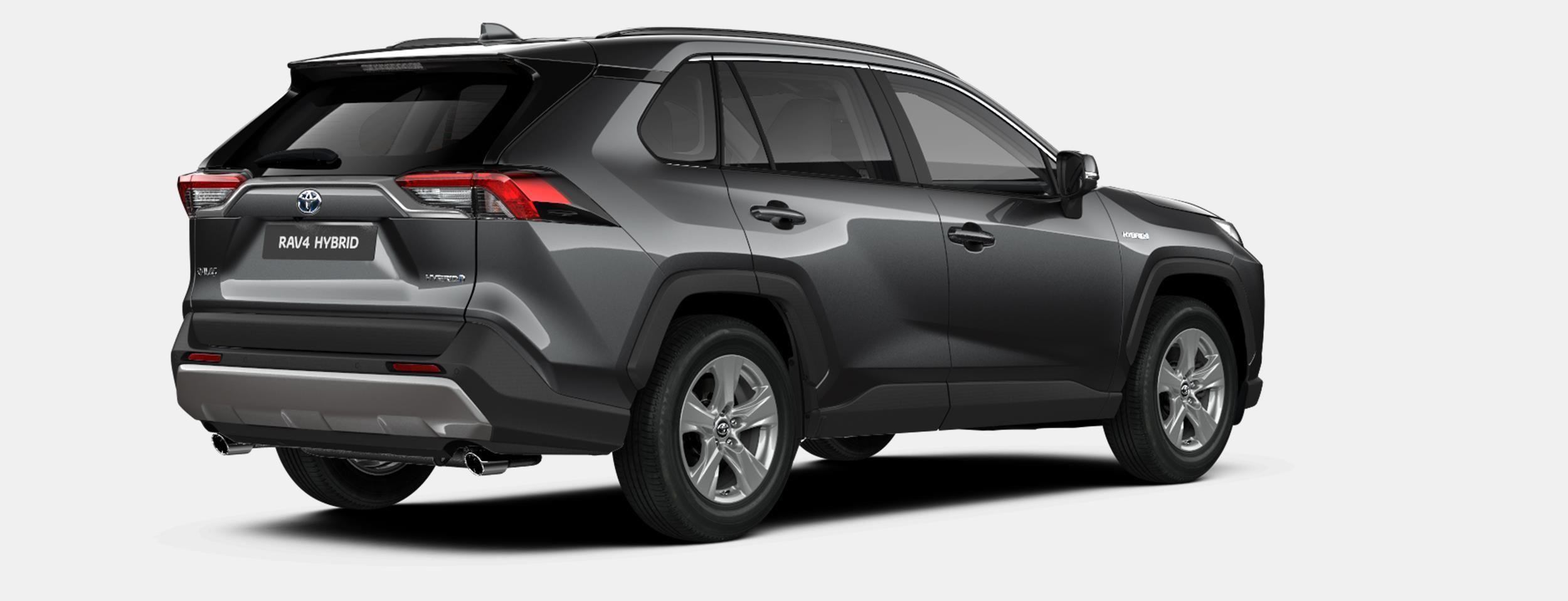 Nieuw Toyota Rav4 5 d. 2.5 Hybrid 2WD e-CVT Premium Plus L 1G3 - DARK GREY METALLIC 5