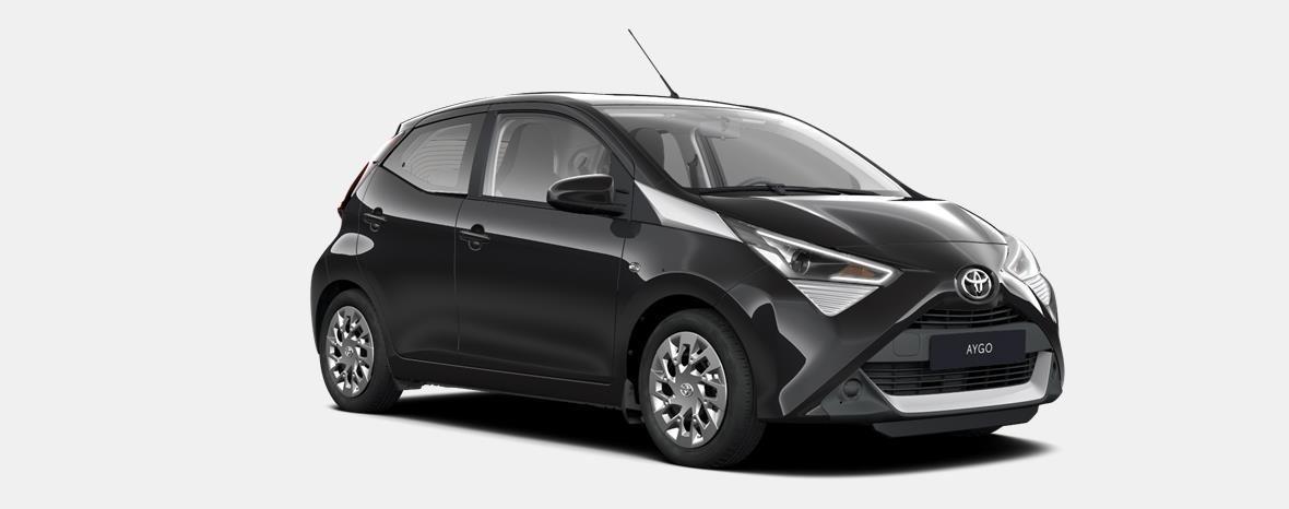 Nieuw Toyota Aygo 5 d. 1.0 VVT-i 5MT x-play II LHD 211 - BLACK MICA 4
