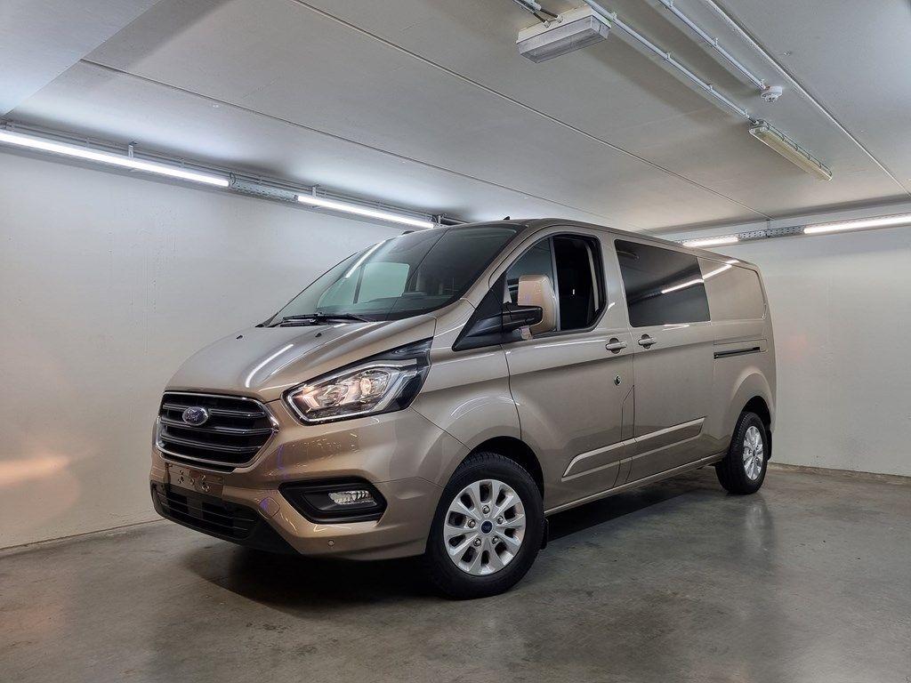 Occasie Ford Transit custom 320L Multi use: bestelwagen met dubbele cabine L2 Limited M6 1
