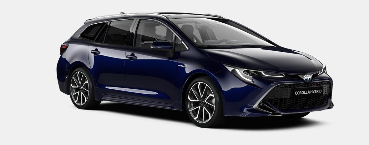 Demo Toyota Corolla hb & ts Touring Sports 1.8 e-CVT Hybrid CVT Prem 8X8 - DARK BLUE METALLIC 4