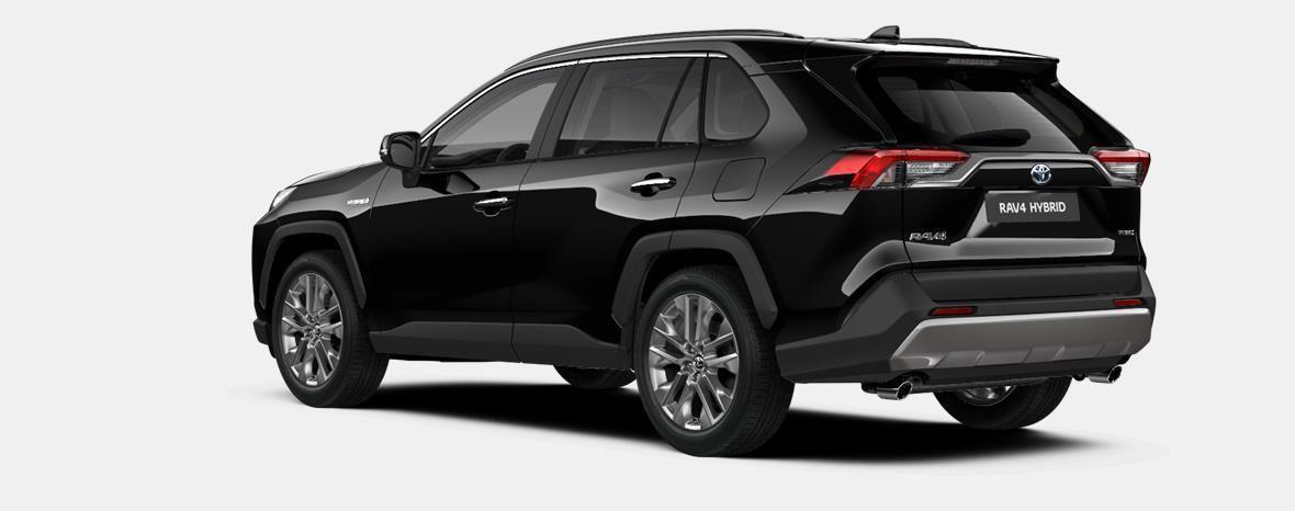 Nieuw Toyota Rav4 5 d. 2.5 Hybrid 2WD e-CVT Premium Plus L 218 - BLACK MICA 2