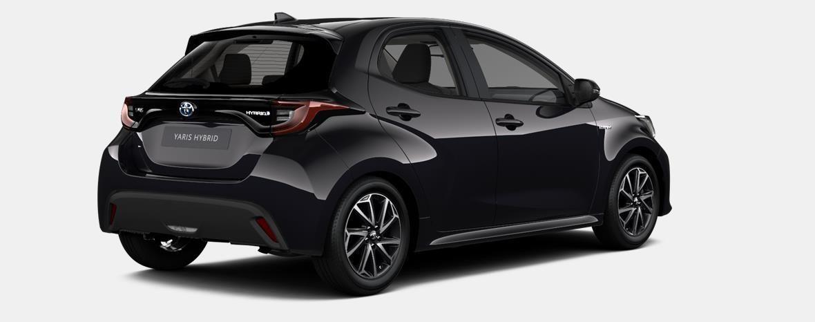 Nieuw Toyota Yaris 5 d. 1.5 Hybrid e-CVT Iconic LHD 209 - BLACK MICA 4
