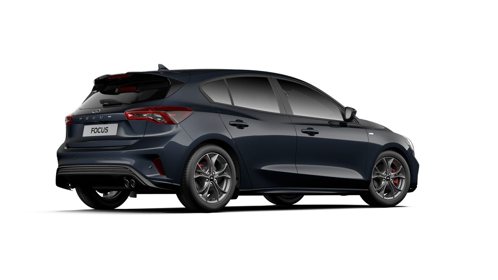 """Nieuw Ford Focus ST-Line X 1.0 EcoBoost 125ps A8 CL FCD - """"Panther Blue"""" Exclusieve metaalkleur 3"""