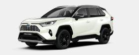 Nieuw Toyota Rav4 5 d. 2.5 Hybrid 2WD e-CVT Style Plus LHD 2QJ - WHITE PEARL / BI-TONE