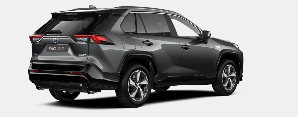 Nieuw Toyota Rav4 plug-in SUV LWB Plug-in CVT Premium Plus LHD 1G3 - DARK GREY METALLIC 3