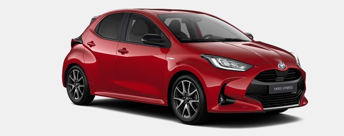 Nieuw Toyota Yaris 5 d. 1.5 Hybrid e-CVT Style LHD 3T3 - TOKYO RED MICA 4