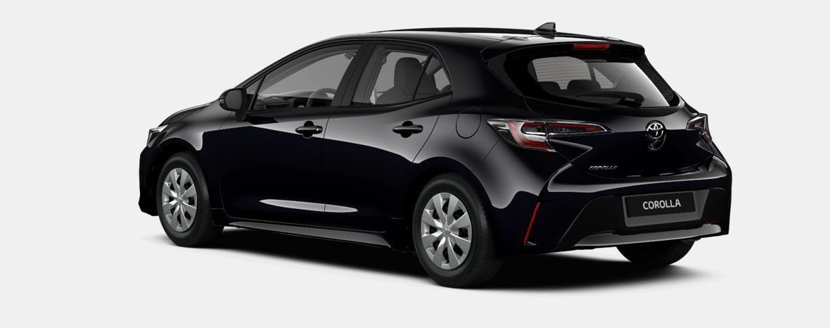 Nieuw Toyota Corolla hb & ts Hatchback 1.2 Turbo petrol 6 MT Dynamic 209 - BLACK MICA 3