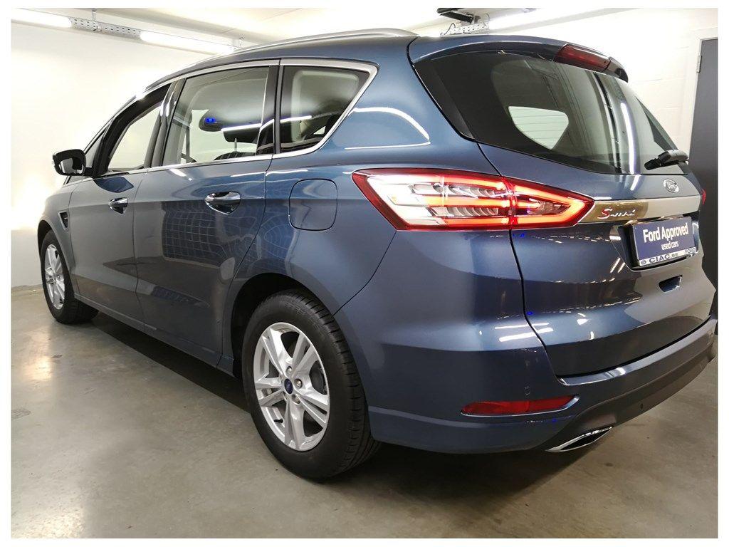 "Demo Ford S-max Titanium 2.0 TDCi 190pk / 139kW A8 5d 9IG - ""Chrome Blue"" metaalkleur 7"