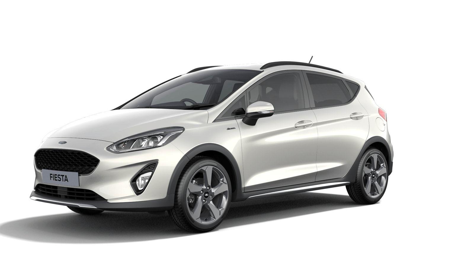"Nieuw Ford All-new ford fiesta Active 1.0i EcoBoost mHEV 125ps / 92kW M6 - 5d JKV - Speciale metaalkleur ""Metropolis White"" 1"