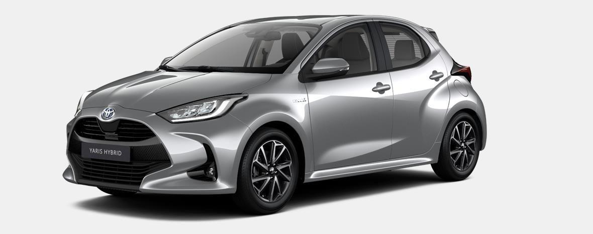 Nieuw Toyota Yaris 5 d. 1.5 VVT-iE 6MT Dynamic LHD 1F7 - ULTRA SILVER METALLIC 1