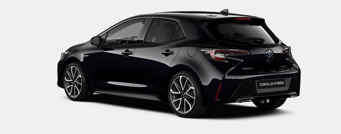 Nieuw Toyota Corolla hb & ts Hatchback 1.8 e-CVT Hybrid CVT Dynamic L 209 - BLACK MICA 4
