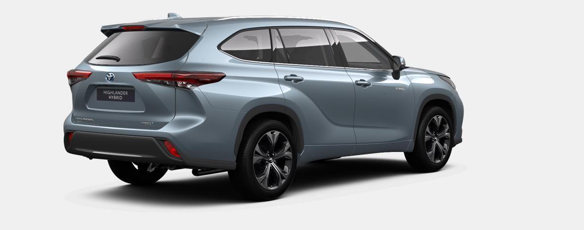Nieuw Toyota Highlander SUV 2.5 HEV CVT Premium Plus LHD 1K5 - MOON DUST MICA 3