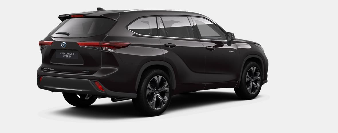 Nieuw Toyota Highlander SUV 2.5 HEV CVT Premium Plus LHD 4X9 - BLACKISH BROWN METALLIC 3
