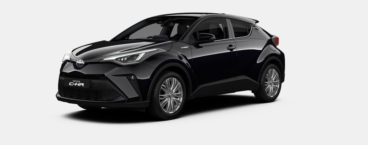 Nieuw Toyota Toyota c-hr 5 d. 1.8L Hybrid CVT C-HIC LHD 209 - BLACK MICA 1