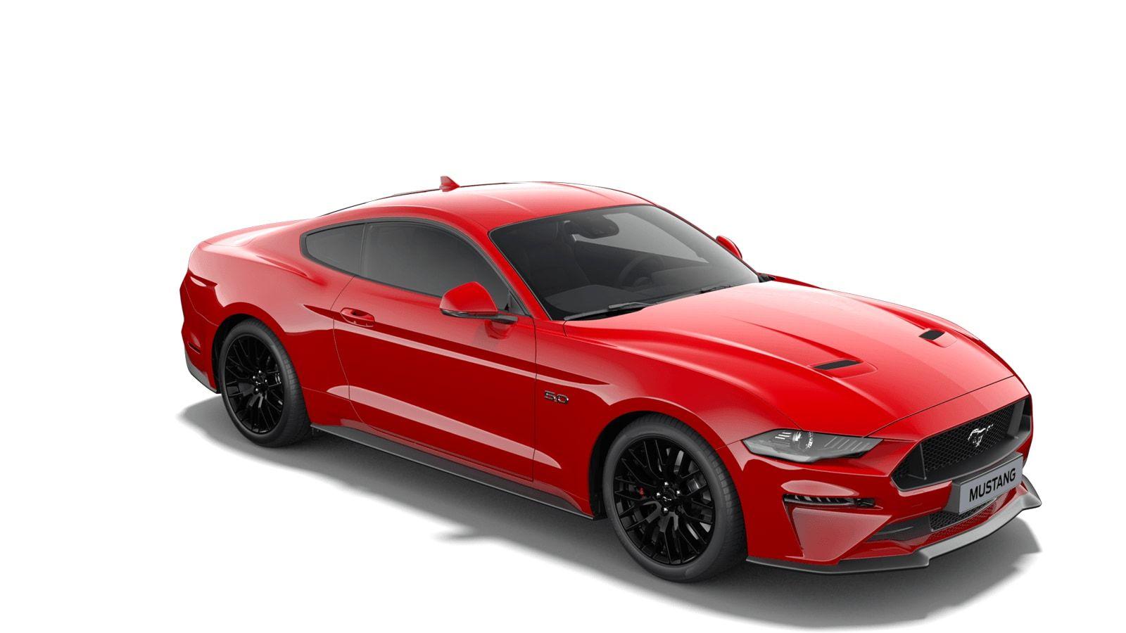 "Nieuw Ford Mustang s550 my19 GT 5.0i V8 449pk / 330kW M6 - Fastback IMF - ""Race Red"" speciale niet-metaalkleur 4"