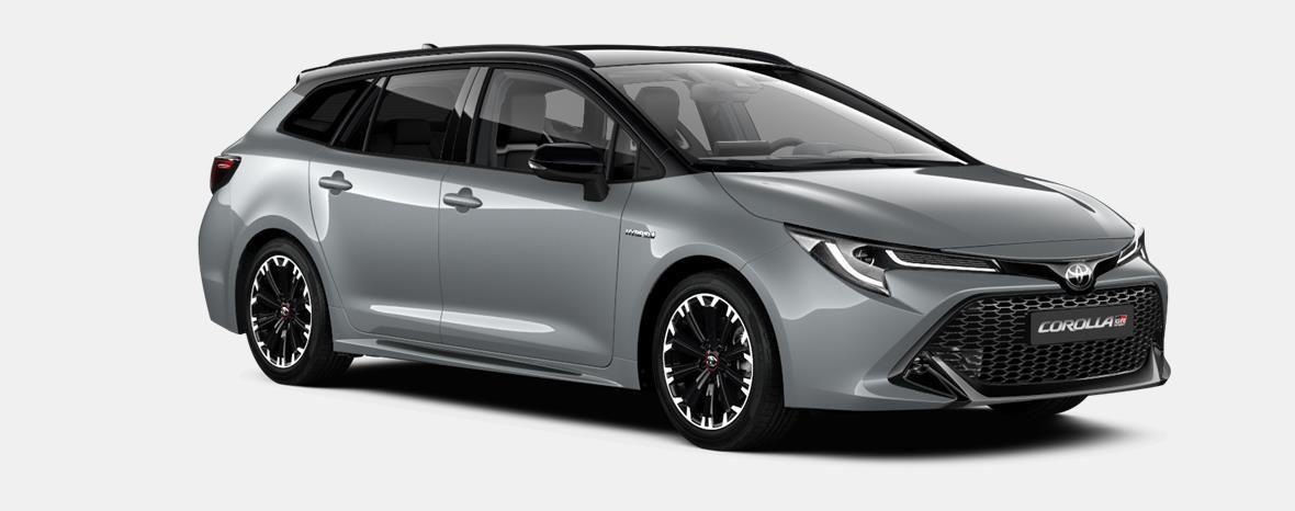 Nieuw Toyota Corolla hb & ts Touring Sports 2.0 Hybrid CVT Style LHD 1J6 - PRECIOUS SILVER METALLIC 4