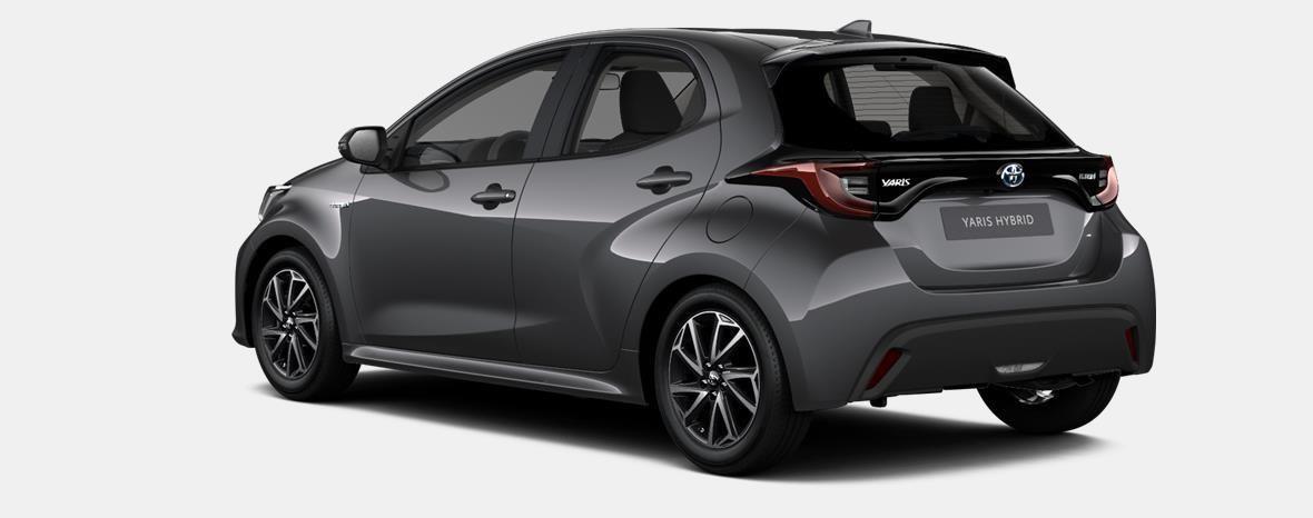 Demo Toyota Yaris 5 d. 1,5 Hybrid e-CVT Comfort & Pack Y-C 1G3 - DARK GREY METALLIC 4
