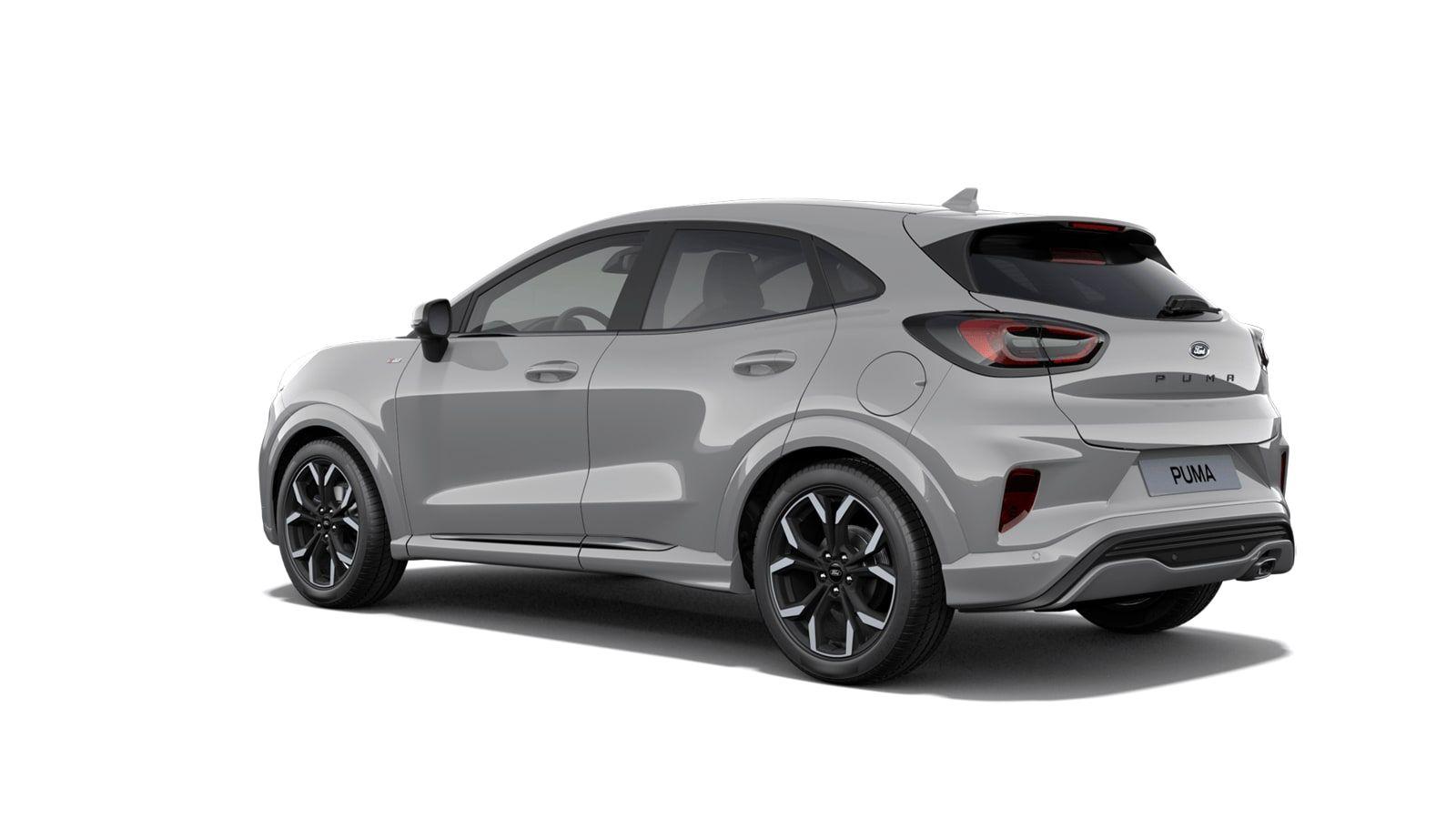 """Nieuw Ford Puma ST-Line X 1.0i EcoBoost mHEV 125ps / 92kW M6 2ZH - Speciale niet-metaalkleur """"Grey Matter"""" 2"""