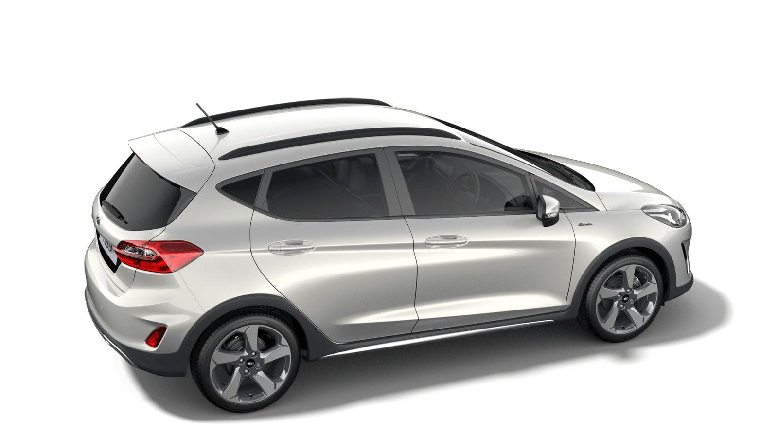 "Nieuw Ford All-new ford fiesta Active 1.0i EcoBoost mHEV 125ps / 92kW M6 - 5d JKV - Speciale metaalkleur ""Metropolis White"" 3"