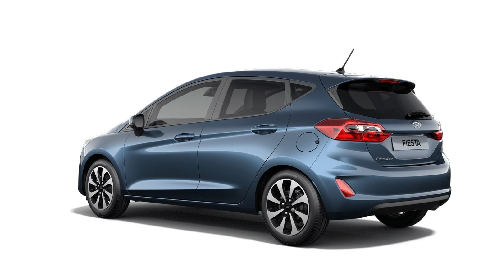 """Nieuw Ford All-new ford fiesta Connected 1.0i EcoBoost 95pk / 70kW M6 - 5d JKC - Metaalkleur """"Chrome Blue"""" 4"""