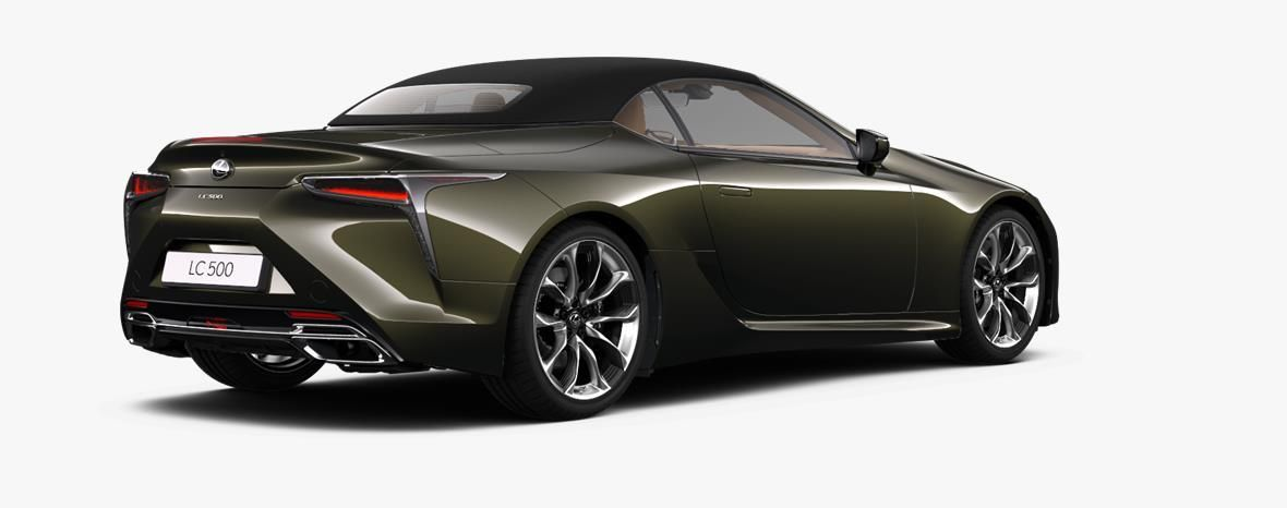Demo Lexus Lc Convertible 5.0L petrol AT Base LHD 6X4 - Terrane Khaki 4