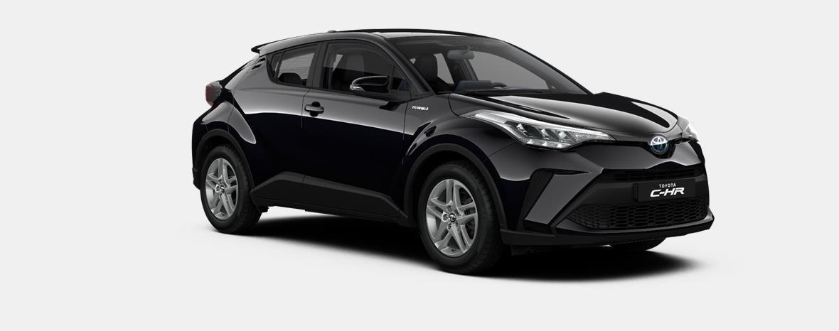 Nieuw Toyota Toyota c-hr 5 d. 1.8L Hybrid CVT C-ENTER LHD 209 - BLACK MICA 4