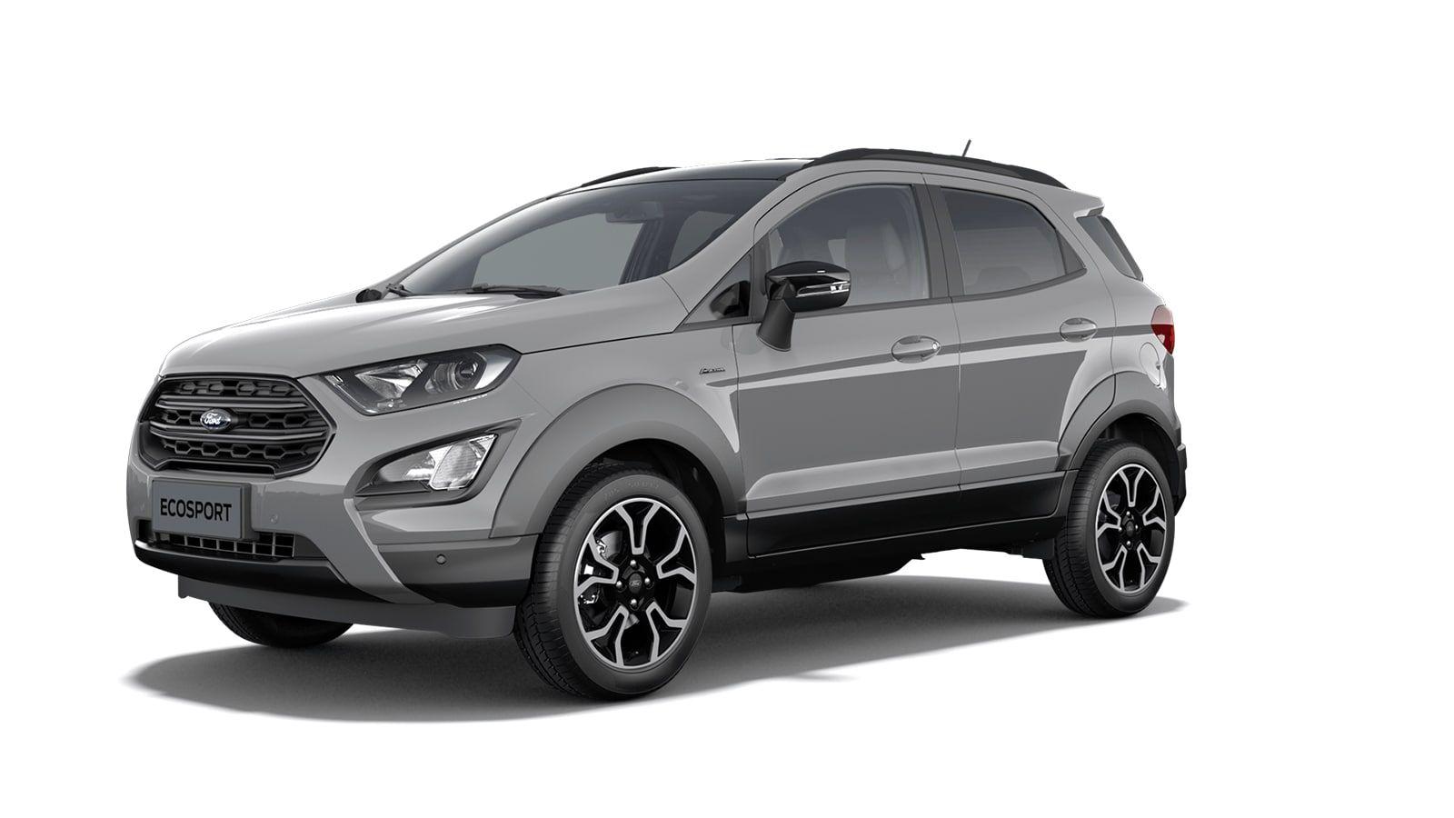 """New Ford New ecosport Active 1.0i EcoBoost 125pk / 92kW M6 - 5d 6GJ - Speciale niet-metaalkleur """"Grey Matter"""" 1"""