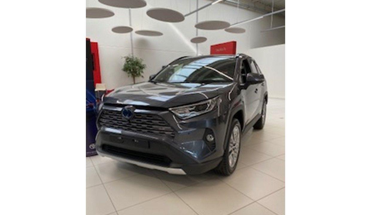 Nieuw Toyota Rav4 5 d. 2.5 Hybrid 2WD e-CVT Premium Plus L 1G3 - DARK GREY METALLIC 1