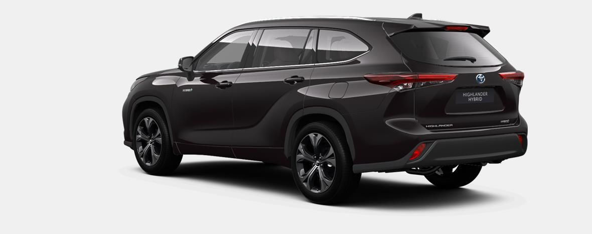 Nieuw Toyota Highlander SUV 2.5 HEV CVT Premium Plus LHD 4X9 - BLACKISH BROWN METALLIC 2