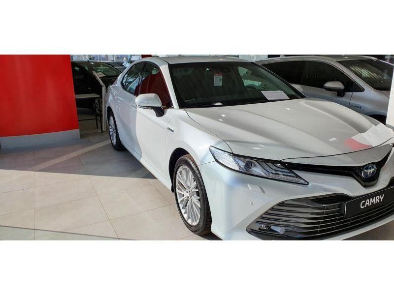 Nieuw Toyota Camry Sedan 2.5 Hybrid e-CVT Premium LHD 089 - WHITE PEARL MC 5