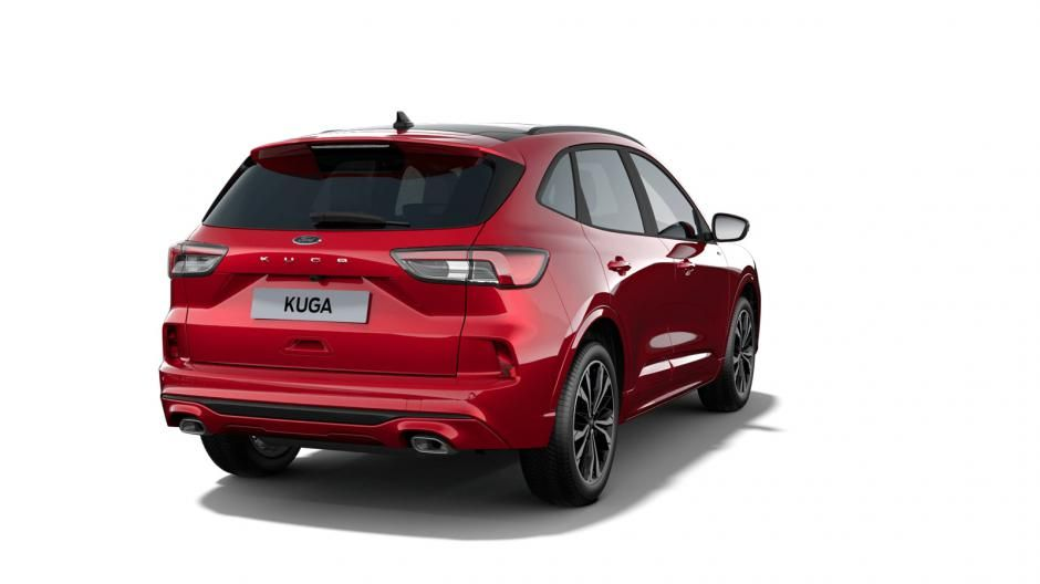 """Nieuw Ford All-new kuga ST-Line X 2.5i PHEV 225pk/165kW - HF45 Auto NYE - """"Lucid Red"""" Exclusieve metaalkleur 4"""