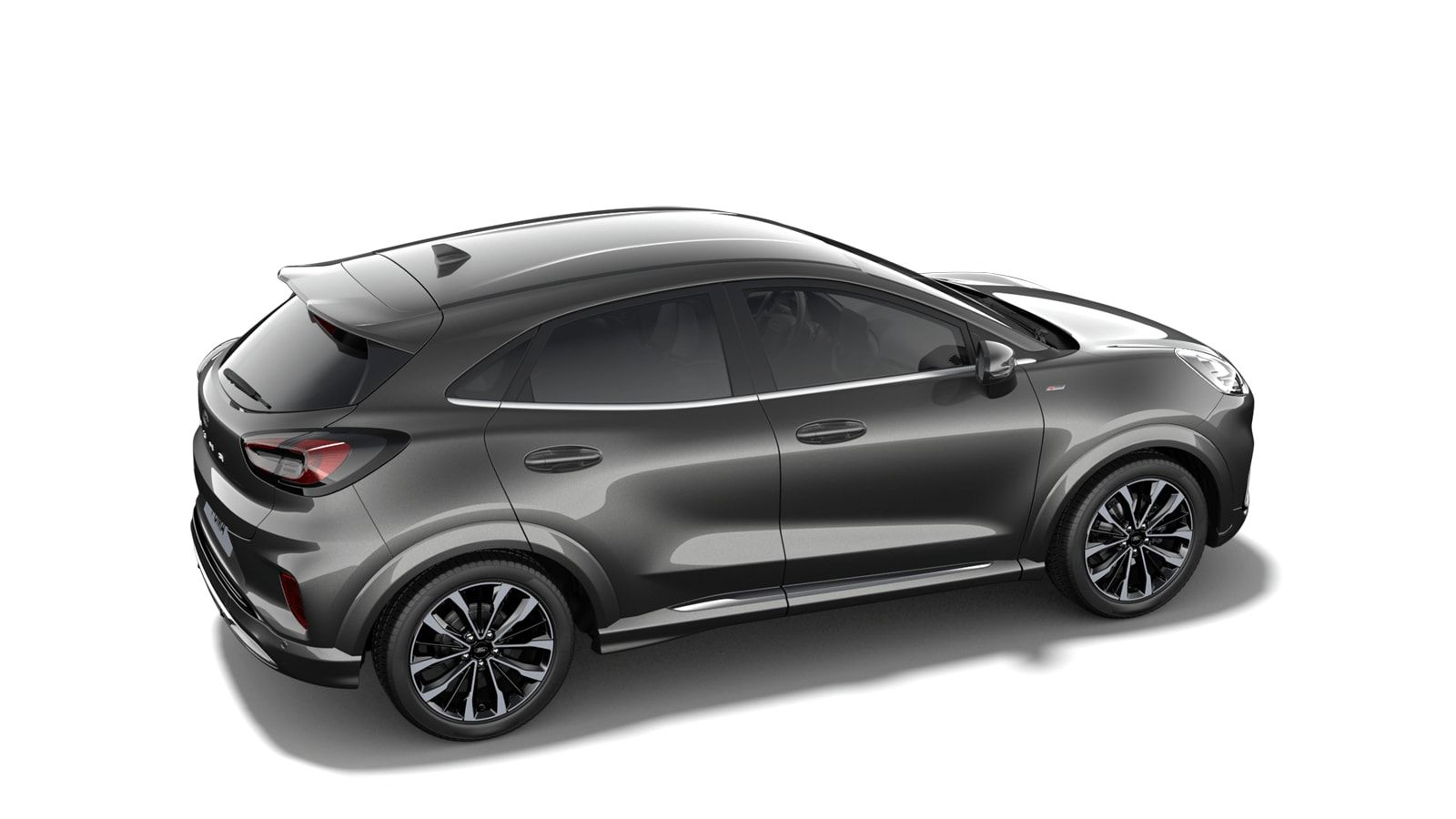 "Nieuw Ford Puma ST-Line 1.5 TDCi 120pk / 88kW M6 2ZQ - Metaalkleur ""Magnetic"" 3"