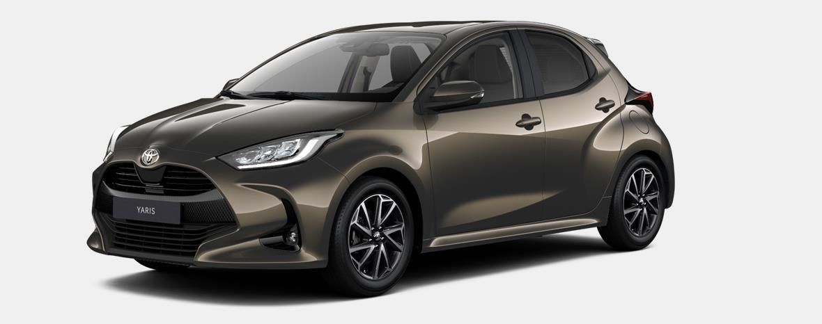 Nieuw Toyota Yaris 5 d. 1.5 VVT-iE 6MT Dynamic LHD 6X1 - OXIDE BRONZE METALLIC 1