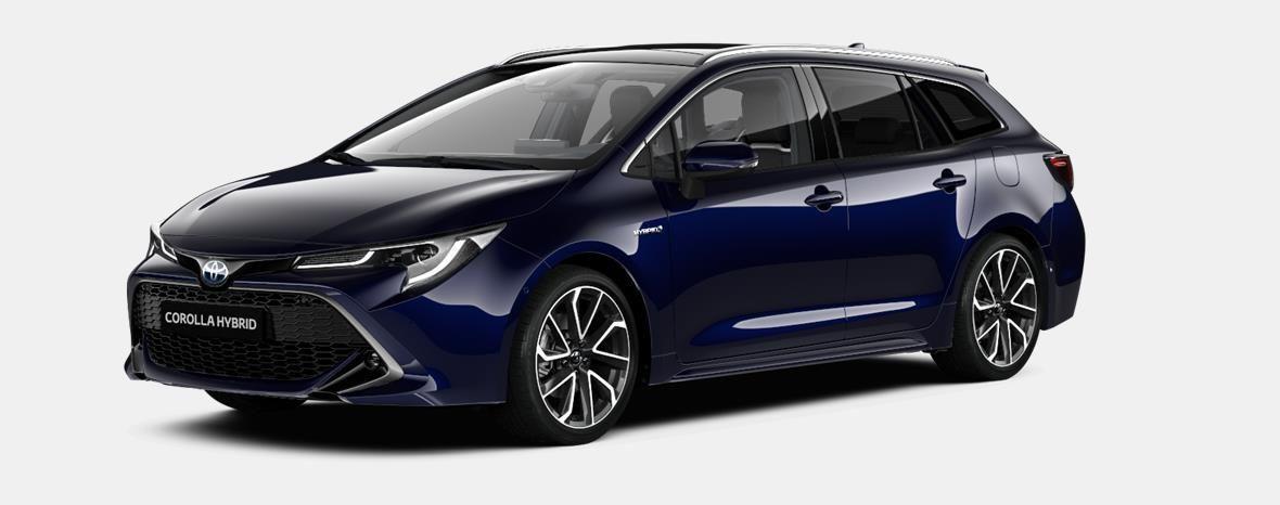 Demo Toyota Corolla hb & ts Touring Sports 1.8 e-CVT Hybrid CVT Prem 8X8 - DARK BLUE METALLIC 1
