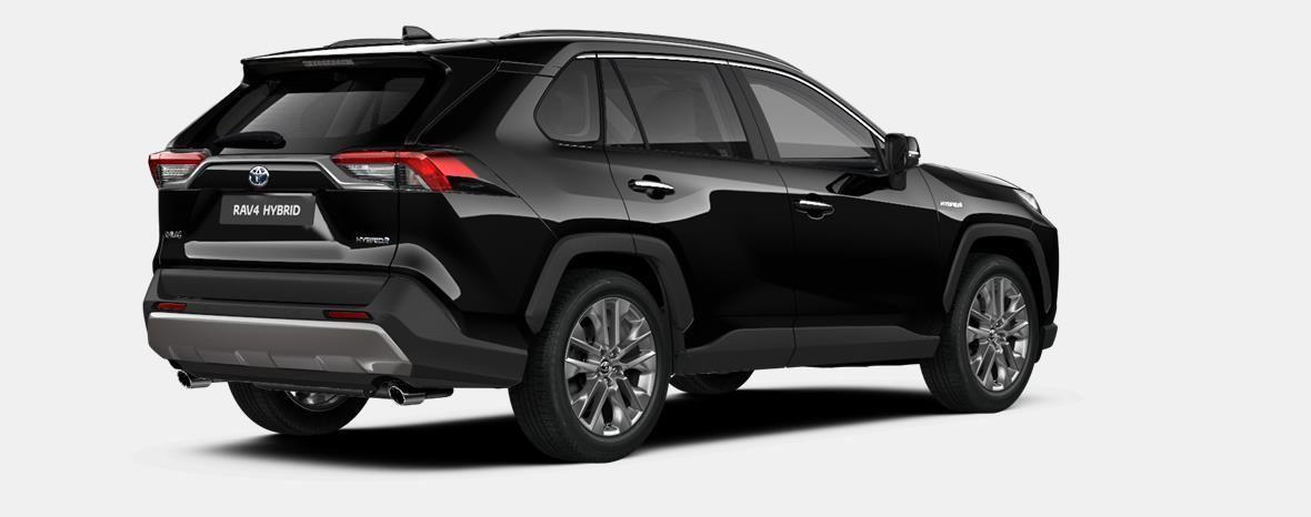 Nieuw Toyota Rav4 5 d. 2.5 Hybrid 2WD e-CVT Premium Plus L 218 - BLACK MICA 3