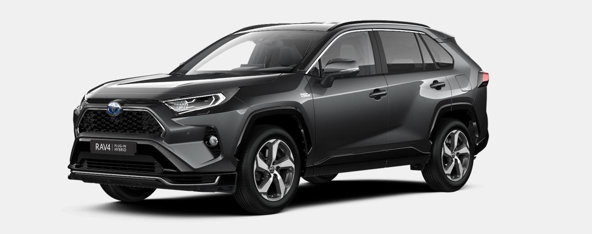 Nieuw Toyota Rav4 plug-in SUV LWB Plug-in CVT Premium Plus LHD 1G3 - DARK GREY METALLIC 1