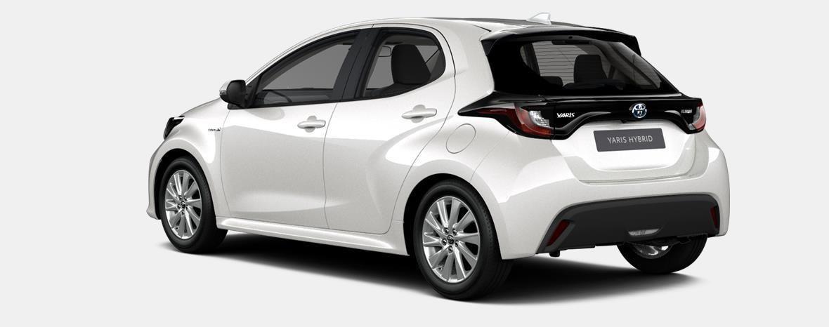 Nieuw Toyota Yaris 5 d. 1.5 Hybrid e-CVT Iconic LHD 089 - WHITE PEARL MC 2