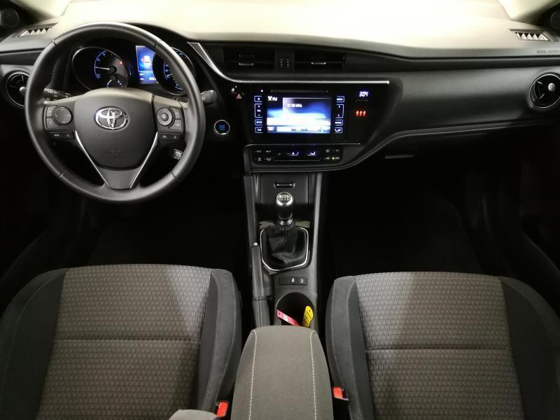 Demo Toyota Auris 5 d. 1.2 Turbo petrol 6 MT Style LHD 1G6 - GRANITE GREY METALLIC 6
