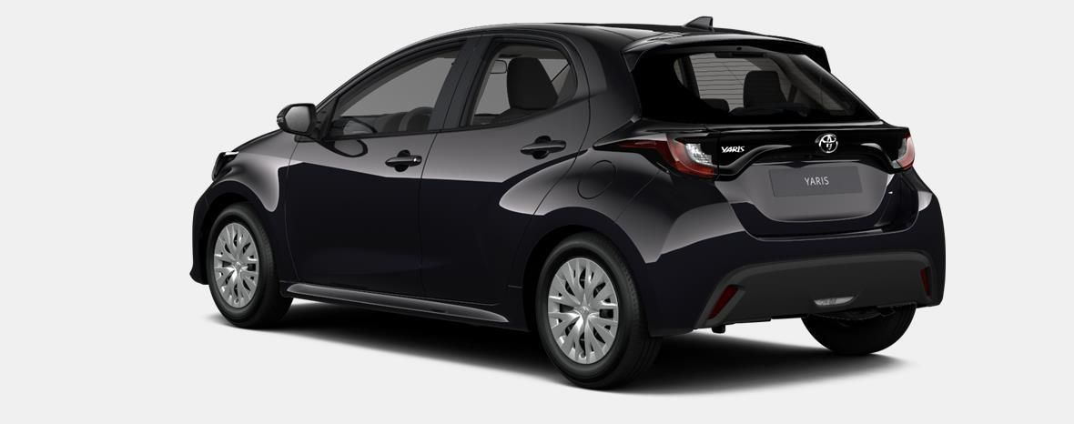 Nieuw Toyota Yaris 5 d. 1.5 Hybrid e-CVT Dynamic LHD 209 - BLACK MICA 2