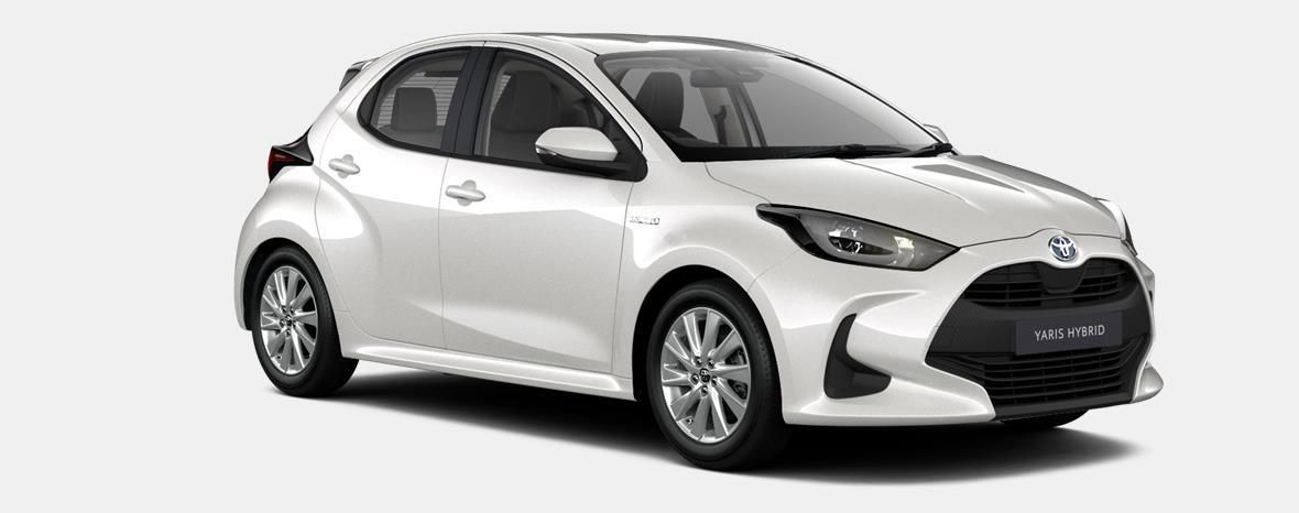 Nieuw Toyota Yaris 5 d. 1.5 Hybrid e-CVT Iconic LHD 089 - WHITE PEARL MC 4