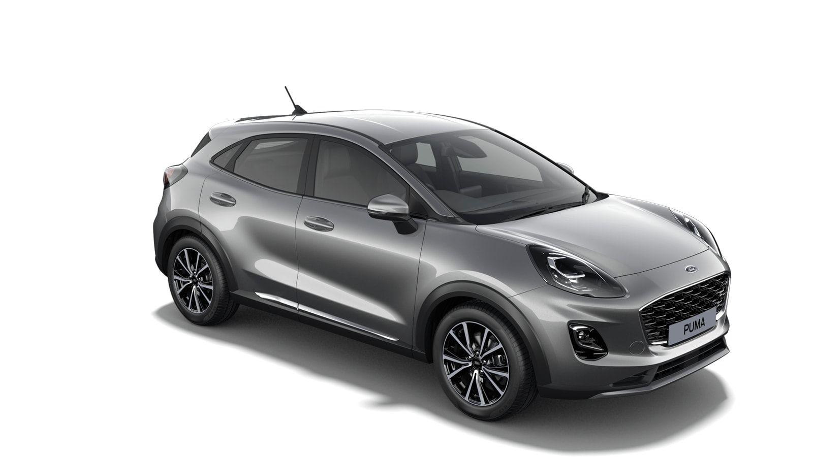 "Nieuw Ford Puma Titanium 1.0i EcoBoost mHEV 125ps / 92kW M6 2ZM - Metaalkleur ""Solar Silver"" 4"