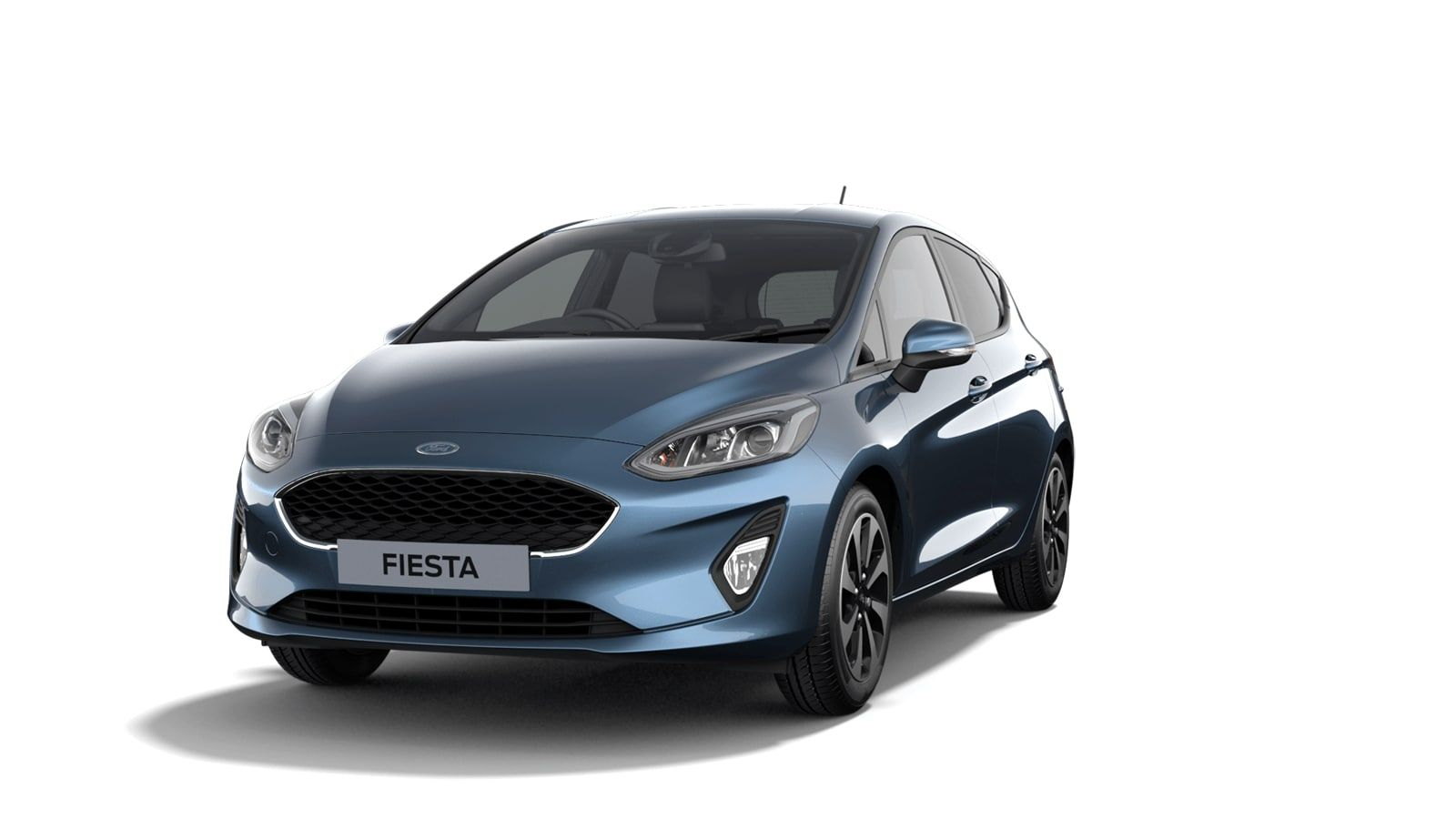"""Nieuw Ford All-new ford fiesta Connected 1.0i EcoBoost 95pk / 70kW M6 - 5d JKC - Metaalkleur """"Chrome Blue"""" 1"""