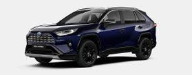 Nieuw Toyota Rav4 5 d. 2.5 Hybrid 2WD e-CVT Style Plus LHD 2RA - Dark Blue / BI-TONE